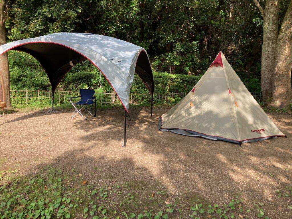 休暇村加太キャンプ場